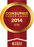 Consumers' Choice Award - 2009 - 2014