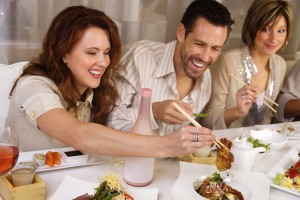 bigstock-People-Eating-And-Socializing--3572416