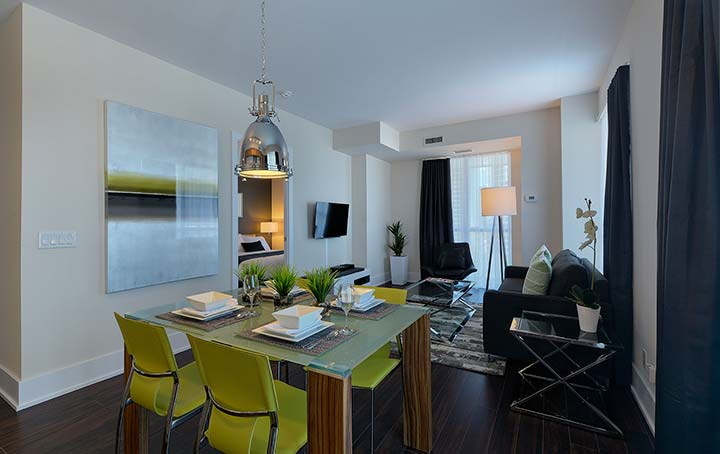 Living in a Furnished Condo
