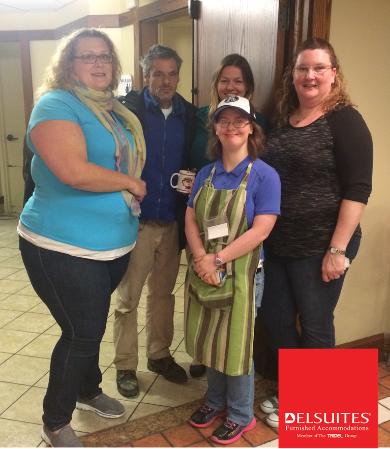DelSuites Gives Back