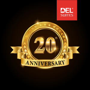 DelSuites Turns 20