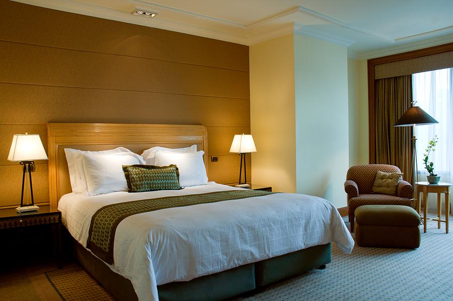 hotel room vs short term rental